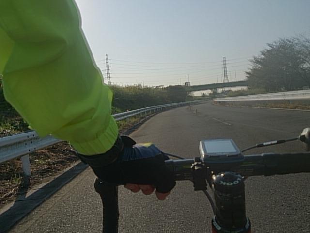 道満早朝サイクリング