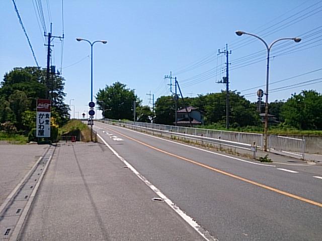 左岸で太郎右衛門橋まで
